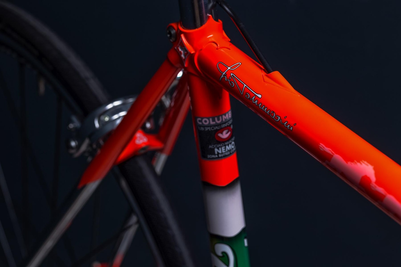 Telaio in acciaio bicicletta tecno tommasini biciclette for Componenti d arredo moderni
