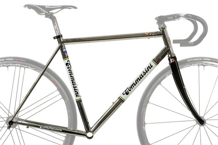 steel bike frame x fire tommasini bikes