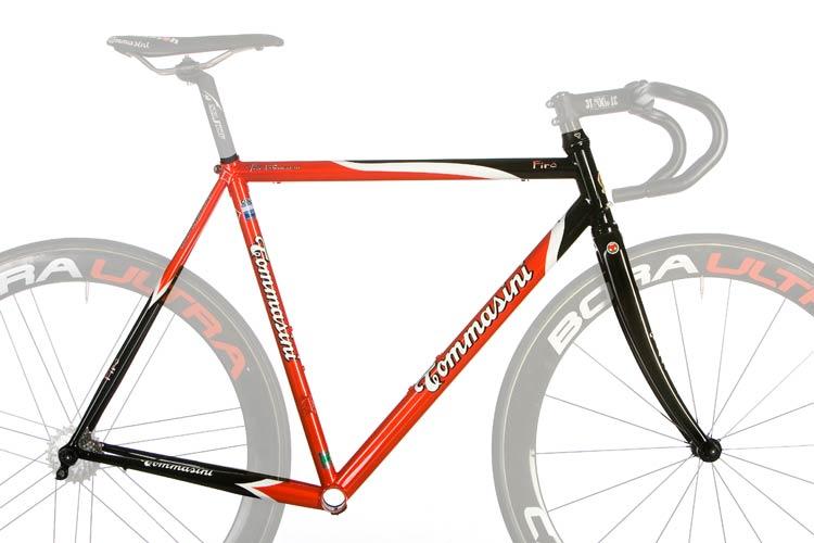 Telaio Bicicletta In Acciaio Fire Tommasini Biciclette